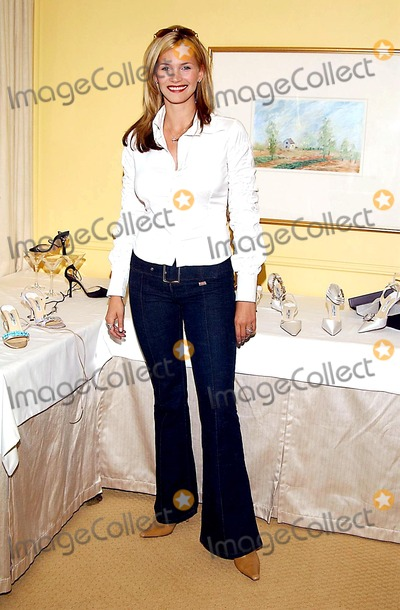 Jimmy Choo Photo -  Jimmy Choos Oscar 2002 Collection Peninsula Hotel Beverly Hills CA 03182002 Natasha Henstridge Photo by Amy GravesGlobe Photosinc2002 (D)