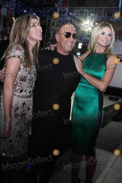 Heidi Klum,Michael Kors,Nina Garcia Photo - Project Runway 10th Anniversary Show - NYC