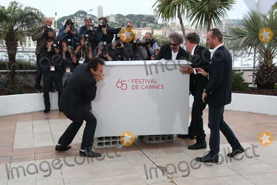 Albert Dupontel,Benoit Poelvoorde Photo - Photocall of Le Grand Soir During the 65th Cannes Film Festival