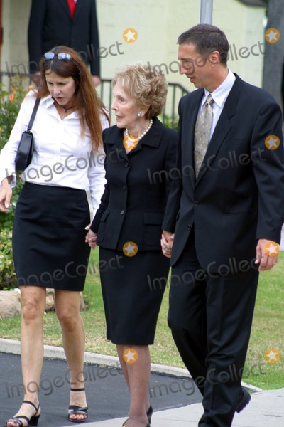 Former President Ronald Reagan,President Ronald Reagan,Patti Davis,Ronald Prescott Reagan,Ronald Reagan,THE GATES,Nancy Reagan Photo - Ronald Reagan Funeral