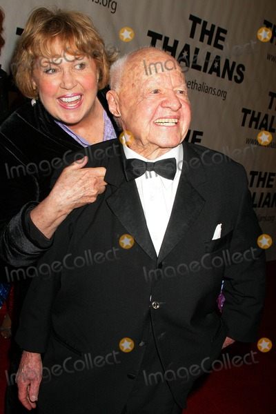 Mickey Rooney,Jan Rooney,Rooney Photo - The Thalians 54th Anniversary Black Tie Dinner Ball Beverly Hills