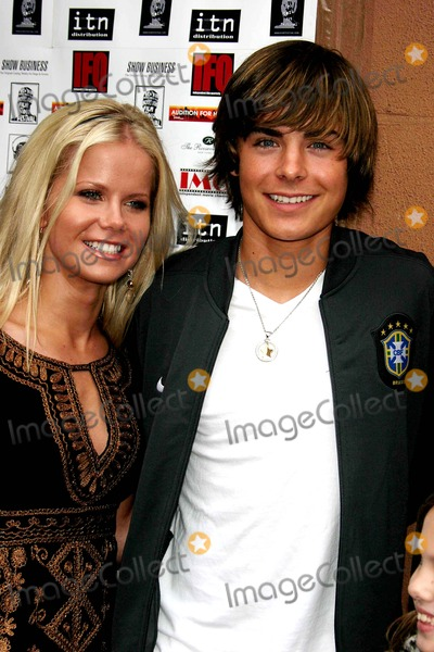 Crystal Hunt,Zac Efron Photo - Archival Pictures - Globe Photos - 38157