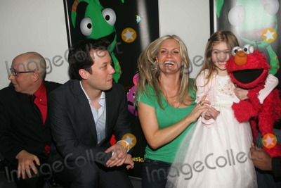 Terri Colombino,Elmo,John Tartaglia Photo - Imaginocean Opening Night New York City