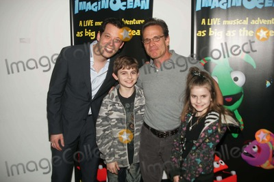 John Tartaglia,Peter Scolari Photo - Imaginocean Opening Night New York City