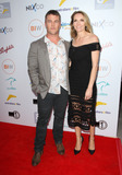 LUKE HEMSWORTH Photo - 01 June 2016 - Beverly Hills California - Luke Hemsworth and wife Samantha Hemsworth 2016 Australians in Film Heath Ledger Scholarship Announcement Dinner held at Mr C Beverly Hills Photo Credit AdMedia