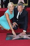 Yolanda Hadid Photo - 31 May 2013 - Hollywood California - Yolanda Hadid David Foster David Foster is honored with a star on the Hollywood Walk of Fame Photo Credit Russ ElliotAdMedia