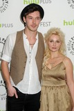 Clare Bowen Photo - 9 March 2013 - Beverly Hills California - Sam Palladio Clare Bowen 30th Annual Paley Fest - Nashville held at the Saban Theatre Photo Credit Byron PurvisAdMedia