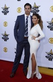 Eric Decker Photo - 19 April 2015 - Arlington Texas -  Eric Decker Jesse James Decker  50th Academy Of Country Music Awards held at ATT Stadium Photo Credit MJTAdMedia