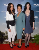 Amirah Vann Photo - 08 January  - Pasadena Ca - Jurnee Smollett-Bell Amirah Vann Jessica de Gouw Arrivals for the WGN America Winter TCA Tour Underground held at The Langham Hotel Photo Credit Birdie ThompsonAdMedia