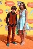 Angelina Wahler Photo - 28 March 2015 - Inglewood California - Max Charles Angelina Wahler 2015 Kids Choice Awards held at The Forum Photo Credit Byron PurvisAdMedia
