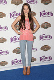 Kelli Berglund Photo - 14 May 2015 - Buena Park California - Kelli Berglund Knotts Berry Farm Celebrates the launch of their new ride Voyage To The Iron Reef held at Knotts Berry Farm Photo Credit F SadouAdMedia