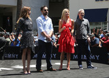 Annabelle Wallis Photo - 20 May 2017 - Hollywood California - Sofia Boutella Jake Johnson Annabelle Wallis Alex Kurtzman Universal Celebrates The Mummy Day With 75-Foot Sarcophagus Takeover At Hollywood And Highland Photo Credit F SadouAdMedia