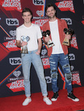 The Chainsmokers Photo - 05 March 2017 - Inglewood California - The Chainsmokers  2017 iHeartRadio Music Awards - Press Room held at The Forum in Inglewood Photo Credit Birdie ThompsonAdMedia