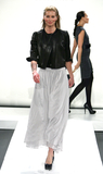 Adrienne Vittadini Photo - 16 February 2011 - New York NY - Niki Taylor  Adrienne Vittadini Presentation MBFW Fall 2011 at Lincoln Center Photo Paul ZimmermanAdMedia
