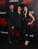 Kim Novak Photo - 11 March 2015 - Los Angeles California - Aleks Paunovic Jesse Metcalfe Meghan Ory  Arrivals for Crackles world premiere original feature film Dead Rising Watchtower held at the Kim Novak Theater at Sony Pictures Studios Photo Credit Birdie ThompsonAdMedia