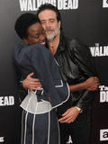 Danai Gurira Photo - 23 October 2016 - Hollywood California Jeffrey Dean Morgan Danai Gurira AMC Presents Live 90-Minute Special Edition Of Talking Dead held at Hollywood Forever Cemetery  Photo Credit Birdie ThompsonAdMedia
