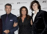 Keely Shaye-Smith Photo - 8 December 2011 - West Hollywood California - Pierce Brosnan Keely Shaye Smith Dylan Stephen Kings BAG OF BONES Miniseries Premiere on AE held at Fig and Olive Photo Credit Emiley SchweichAdMedia