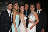 Melissa Ordway Photo - Max Erlich Melissa Ordway Hunter King Matthew Atkinson Kelli Goss Lachlan Buchanan at the 2015 Daytime Emmy Awards Press Room at the Warner Brothers Studio Lot on April 26 2015 in Los Angeles CA Copyright David Edwards  DailyCelebcom 818-249-4998