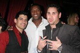 Antonio Rufino Photo - Antonio Rufino with Roger Cross and Dave Pearce at the grand opening of Hadaka Sushi Restaurant And Lounge sponsored by Trump Vodka Hadaka Sushi West Hollywood CA 02-12-08
