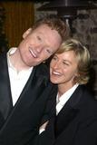 Ellen Degeneres Photo - Conan OBrien and Ellen Degeneres at the HBO Post-Emmy party Spago Beverly Hills CA 09-22-02