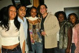 Kena Zakia Photo - Kena Zakia and party guests at Kenas Birthday and Web Site Launch Party Miyagis West Hollywood CA 11-05-04