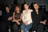 Nancy Dolman Photo - Martin Short Nancy Dolman and Jamie Lee Curtis with Daughter Annie at the Richard Tyler Fashion Show as part of the Mercedez-Benz Fashion Week in LA The Standard Hotel Los Angeles 04-04-03