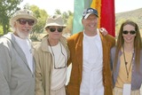 Page Hannah Photo - Lou Adler Paul Newman Bruce Willis and Page Hannah at the Dedication of The Painted Turtle Camp at Lake Hughes CA 05-22-04