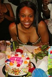 Kena Zakia Photo - Kena Zakia ready for cake at Kenas Birthday and Web Site Launch Party Miyagis West Hollywood CA 11-05-04