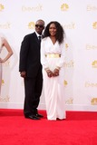 Courtney B Vance Photo - LOS ANGELES - AUG 25  Courtney B Vance Angela Bassett at the 2014 Primetime Emmy Awards - Arrivals at Nokia Theater at LA Live on August 25 2014 in Los Angeles CA