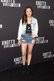 Hayley Orrantia Photo - LOS ANGELES - SEP 30  Hayley Orrantia at the 2016 Knotts Scary Farm at Knotts Berry Farm on September 30 2016 in Buena Park CA