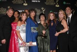Daniel Goddard Photo - LOS ANGELES - JUN 22  Young and Restless - Best Daytime Drama - Sean Carrigan Mischel Morgan Kate Linder Bryton James Jess Walton Jill Faren Phelps Tracey Bregman Melody Thomas Scott Daniel Goddard at the 2014 Daytime Emmy Awards Press Room at the Beverly Hilton Hotel on June 22 2014 in Beverly Hills CA