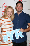 Hunter King Photo - LOS ANGELES - SEP 8  Hunter King Robert Adamson at the Young and The Resltless 11000 Show Celebration at the CBS Television City on September 8 2016 in Los Angeles CA
