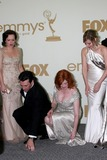 Cara Buono Photo - LOS ANGELES - SEP 18  Elisabeth Moss Jon Hamm Christina Hendricks in the Press Room at the 63rd Primetime Emmy Awards at Nokia Theater on September 18 2011 in Los Angeles CA