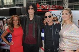 B Howard Photo - Photo by Dennis Van TinestarmaxinccomSTAR MAX2013ALL RIGHTS RESERVEDTelephoneFax (212) 995-11964913Mel B Howard Stern Howie Mandel and Heidi Klum at Americas Got Talent Auditions(NYC)