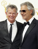 Andrea Bocelli Photo - Photo by REWestcomstarmaxinccomSTAR MAX2015ALL RIGHTS RESERVEDTelephoneFax (212) 995-119692015David Foster and Andrea Bocelli at the 67th Primetime Emmy Awards(Los Angeles CA)
