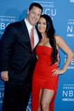 Nikki Bella Photo - Photo by Dennis Van TinestarmaxinccomSTAR MAX2017ALL RIGHTS RESERVEDTelephoneFax (212) 995-119651517John Cena and Nikki Bella at The 2017 NBCUniversal Upfront in New York City