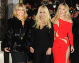 Goldie Photo - Photo by KGC-102starmaxinccomSTAR MAX2015ALL RIGHTS RESERVEDTelephoneFax (212) 995-119612515Goldie Hawn Donatella Versace and Kate Hudson arrive at the Versace Runway Show during Paris Fashion Week(Paris France)