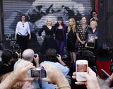 Kathy Valentine Photo - Jane Wiedlin Kathy Valentine Charlotte Caffey Belinda Carlisle and Gina Schock of the band The Go-Gos at the Go-Gos Hollywood Walk of Fame Induction Ceremony in Hollywood CA  11th August 2011