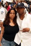 Aisha Atkins Photo - Ja Rule and Wife Aisha Atkins Arriving at the Premiere of the Day After Tomorrow at the American Museum of Natural History in New York City on May 24 2004 Photo by Henry McgeeGlobe Photos Inc 2004