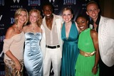 Andre Ward Photo - Olivia Newton-john with Patti Murin Andre Ward Anika Larsen Kenita R Miller and Marty Thomas at the Opening Night Party For Xanadu at Providence in New York City on July 10 2007 Photo by Henry McgeeGlobe Photos Inc 2007