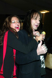 Ace Frehley Photo - Ace Frehley (Kiss) with Daughter Monique at Anna Sui Showing of Fall Collection in the Tent at Bryant Park in New York City on February 12 2003 Photo by Henry McgeeGlobe Photos Inc2003