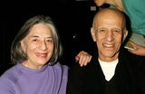 Alex Katz Photo - Alex Katz and His Wife Ada at Zac Posen Showing of Fall Collection in the Tent at Bryant Park in New York City on February 12 2004 Photo by Henry McgeeGlobe Photos Inc 2004 Zac Posen Fashion