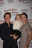 Irina Dvorovenko Photo - NYC  100110Ballet dancers Maxim Beloserkovsky and  Irina Dvorovenko with daughter Emma at opening night of the Off-Broadway play Freckleface Strawberry The Musical based on Julianne Moores best selling childrens book Freckleface Strawberry at New World StagesPhoto by Adam Nemser-PHOTOlinknet