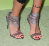 Cassidy Photo - Katie Cassidy shoes3165JPGNYC  052109Katie Cassidy shoes and tattoos(David Cassidys daughter) (Melrose Place)at the CW Upfront 2009 at Madison Square GardenDigital Photo by Adam Nemser-PHOTOlinknet