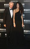 Afef Tronchetti Provera Photo - November 30 2015 - Marco Tronchetti Provera and Afef Tronchetti Provera attending Gala Evening To Celebrate The Pirelli Calendar 2016 By Annie Leibovitz at The Roundhouse in Camden London UK