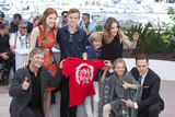 Annalise Basso Photo - CANNES FRANCE - MAY 17 Actors Viggo Mortensen Annalise Basso Nicholas Hamilton Charlie Shotwell Samantha Isler Shree Crooks and Director Matt Ross attend the Captain Fantastic photocall during the 69th Annual Cannes Film Festival on May 17 2016 in Cannes France(Photo by Laurent KoffelImageCollectcom)