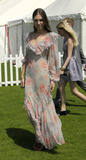 Amber LeBon Photo - Amber LeBon at Cartier International Polo Day 2011 at Guards Polo Club on July 24 2011 in Windsor England