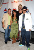 Erika Martin Photo - MIAMI  AUGUST 28 2005    Brooks Buford Erika Martin Gino Panaro and Johnny Hardesty at Diddys Official VMA after party at Space