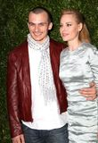 Aimee Mullins Photo - April 22 2014 New York CityRupert Friend (L) and Aimee Mullins attend the Chanel Tribeca Film Festival Artist Dinner at Balthazer on April 22 2014 in New York City