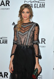 Ana Beatriz Barros Photo - December 12 2013 LAAna Beatriz Barros arriving at amfAR The Foundation for AIDS 4th Annual Inspiration Gala at Milk Studios on December 12 2013 in Hollywood California